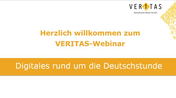 Titelfolie Deutschstunde-Webinar